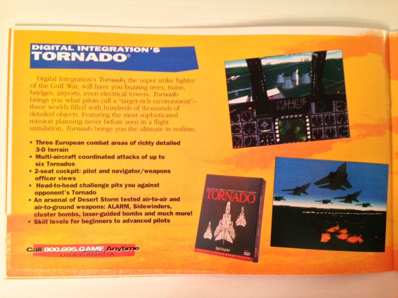 TornadoMan's Bunker - Tribute Site to the best Flight Simulator ever